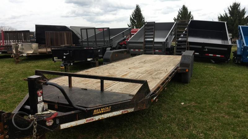 2013 Belmont Machine 20 14K Equipment Trailer