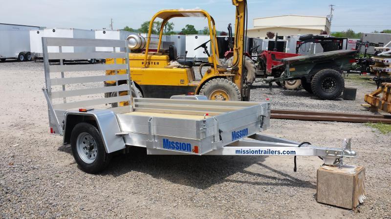 2016 Mission aluminum MU 5x10 DLW utility trailer -LED -3.5k