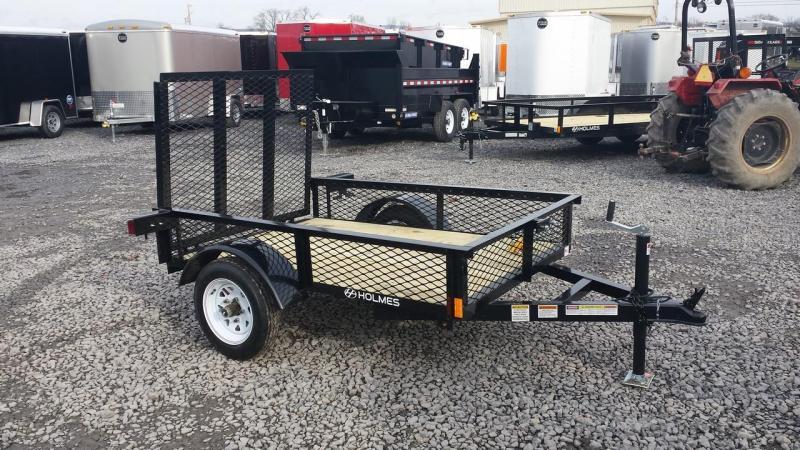 2015 Holmes residential 4x6 utility trailer -mesh -LED -2k