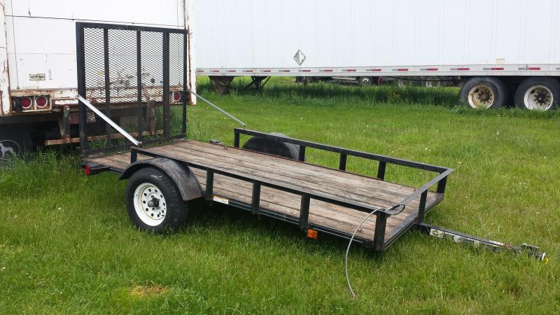 2005 Carry-On 5x10 Wood Deck Utility Trailer