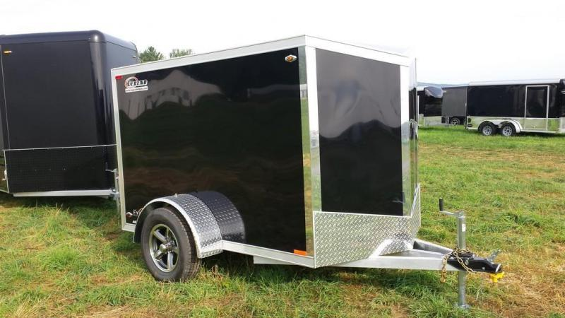 2016 Legend Manufacturing 5x9 all aluminum Enclosed Cargo Trailer