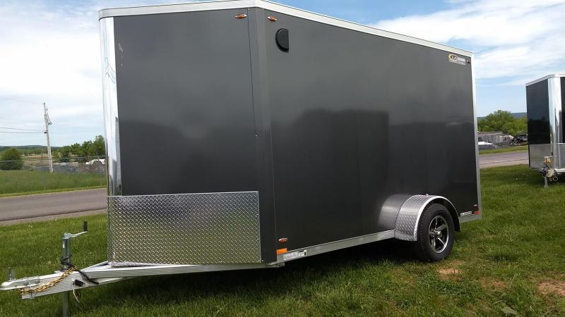 2019 Legend Manufacturing 7x15 all aluminum Enclosed Cargo Trailer