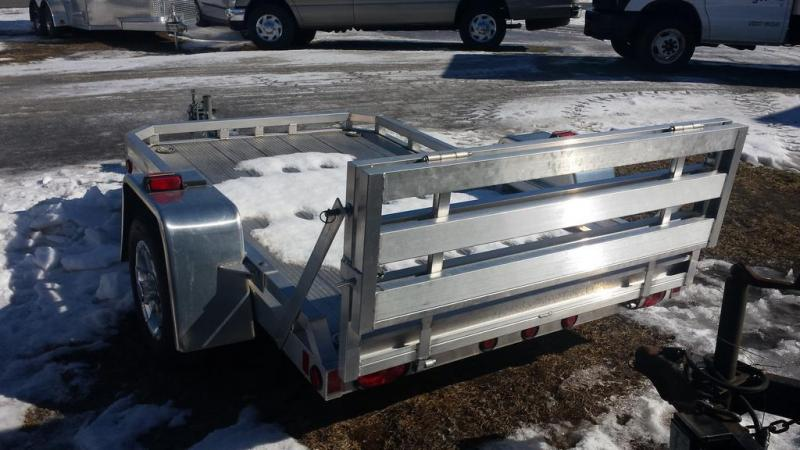2014 Mission 5x8 All Aluminum Motorcycle Trailer