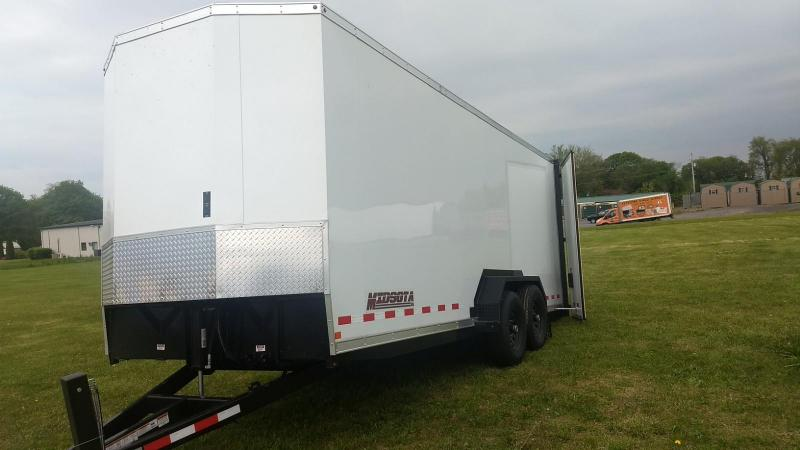 2019 Midsota SLE Enclosed Tilt Equipment Trailer