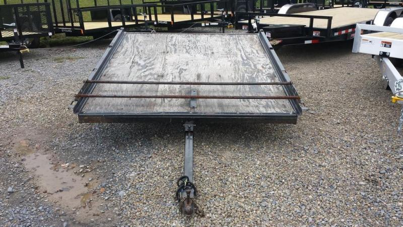 1974 Topline 6x8 open Snowmobile Trailer