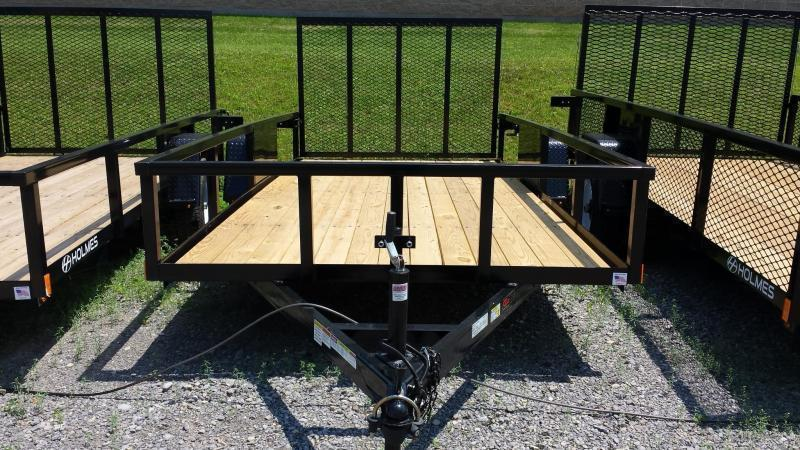 2019 Holmes 6-4x14 Commercial Rail Side Utility Trailer