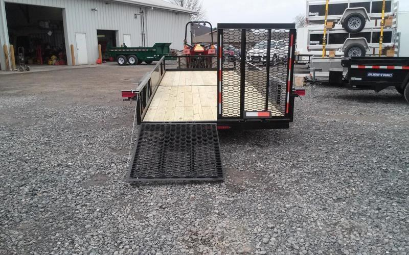 2019 Holmes commercial 6-10x20 landscape utility trailer