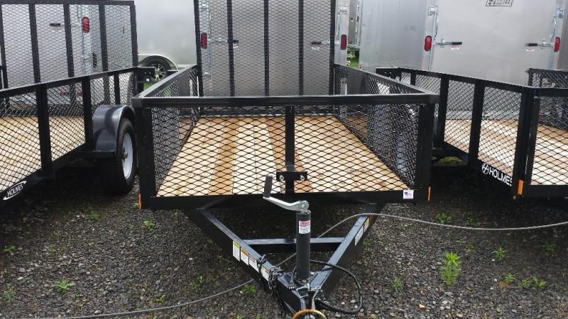 2018 Holmes 5x10 Commercial Mesh Side Utility Trailer