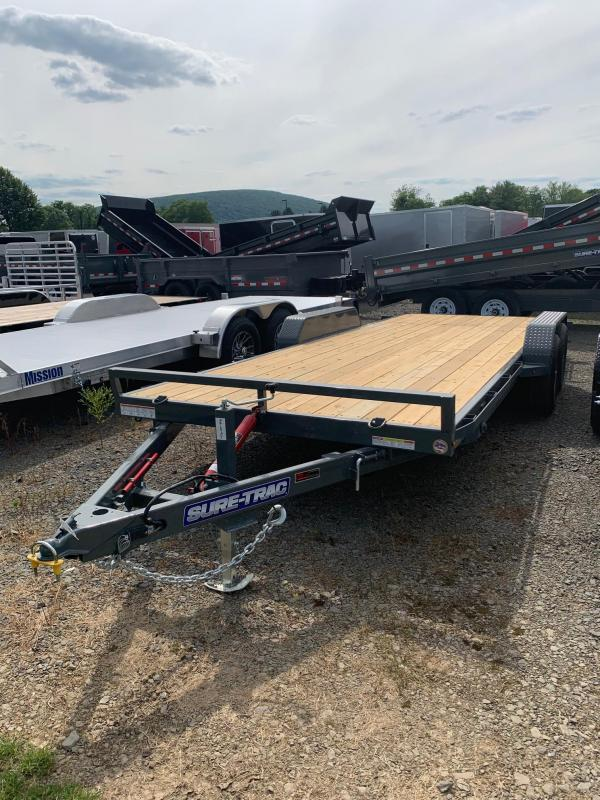 2019 Sure-Trac 7x20 10k Tilt Car / Racing Trailer