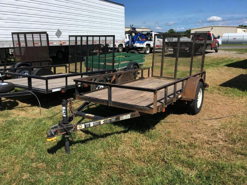 2004 Carry-On 5x10 Wood Deck Utility Trailer