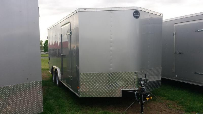2016 Wells Cargo 8.5x18 Fast Trac Enclosed Cargo Trailer