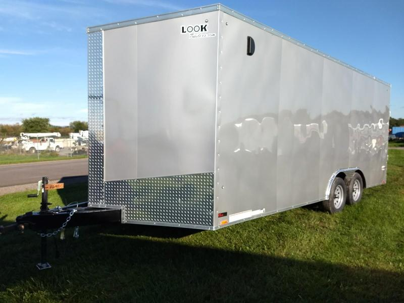 2019 Look Trailers 8.5x20 7K Car / Racing Trailer