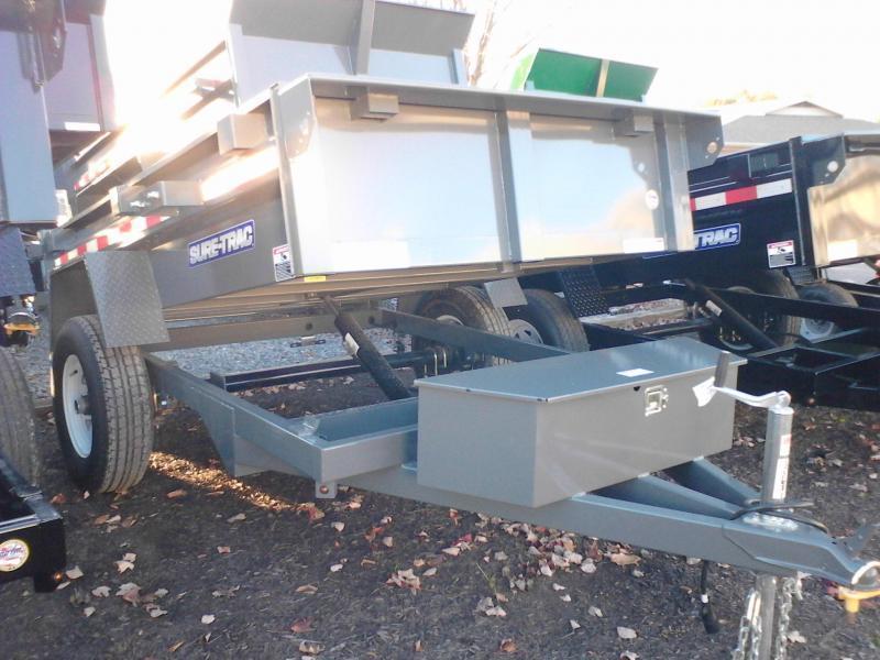 2019 Sure-Trac 5x8 5K Low Profile Dump Trailer