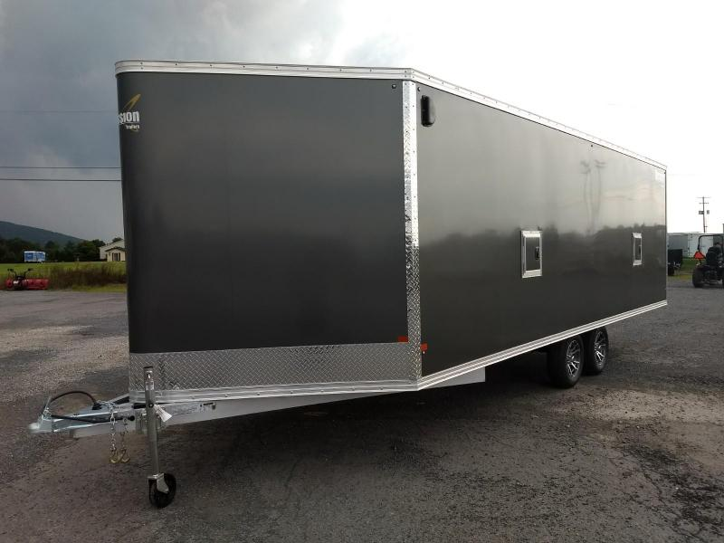 2019 Mission MES 101x22 DL Snowmobile Trailer