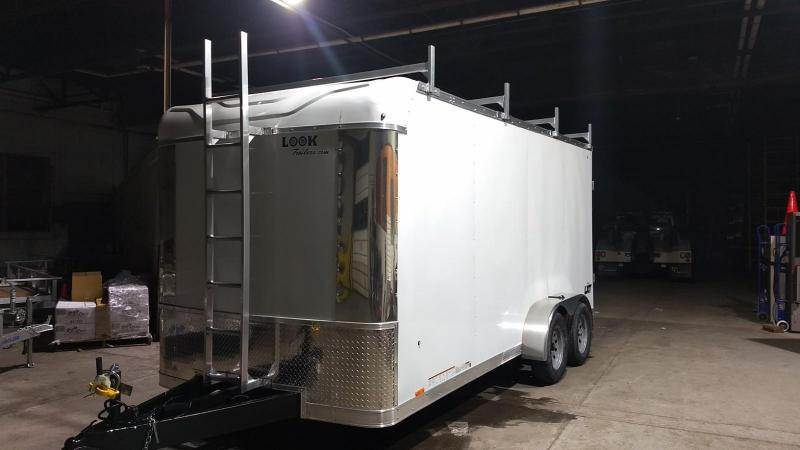 2019 Look Trailers LXT 7x16 Contractor Enclosed Cargo Trailer
