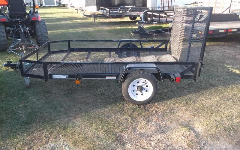 2008 Carry-On 5.5x8 2K Utility Trailer
