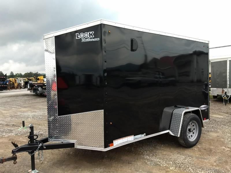 2019 Look Trailers 5x10 Element SE Enclosed Cargo Trailer
