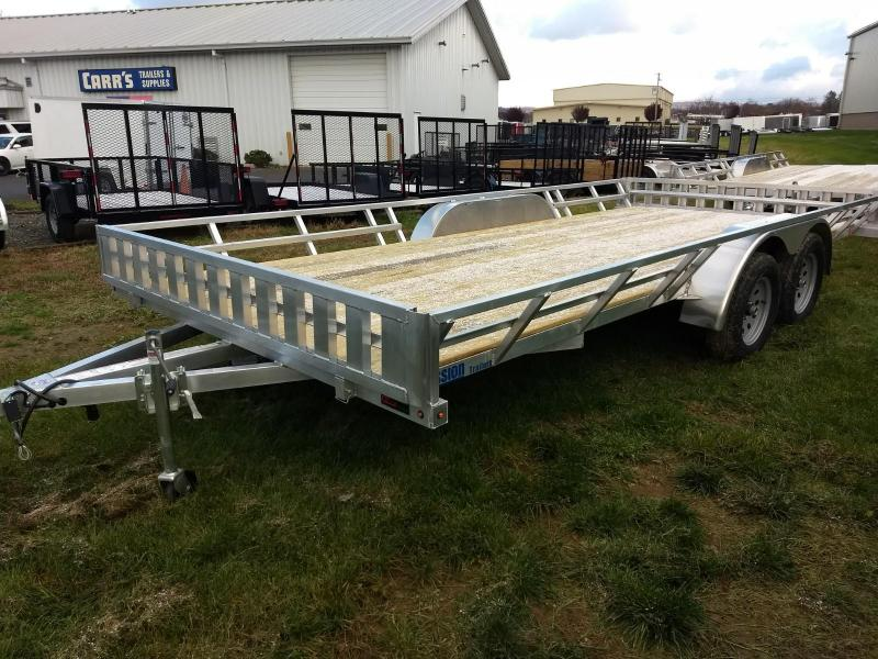 2019 Mission 83x20 5 Place ATV Trailer