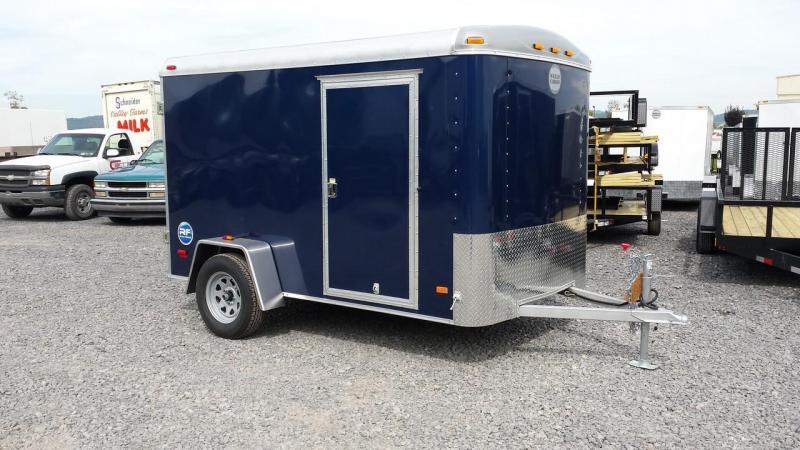 2015 Wells Cargo Road Force 6x10 enclosed trailer -Indigo Blue -barn -3M bonded sides