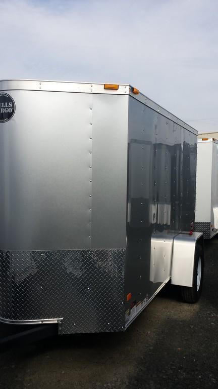 2016 Wells Cargo Fast Trac 5x10 Cargo / Enclosed Trailer