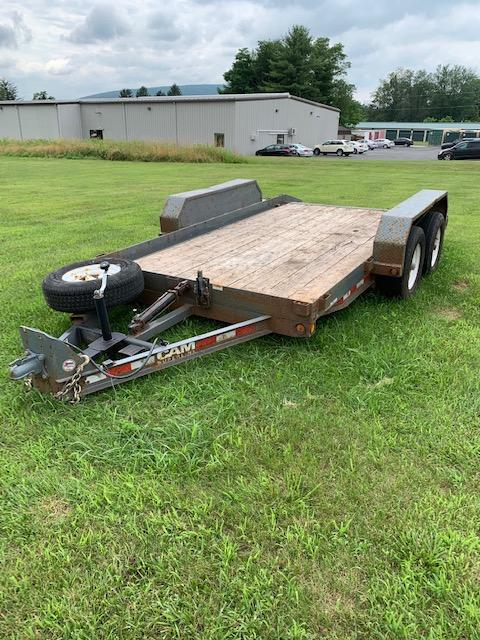 2010 Cam Superline 6'9x11+2 Equipment Trailer