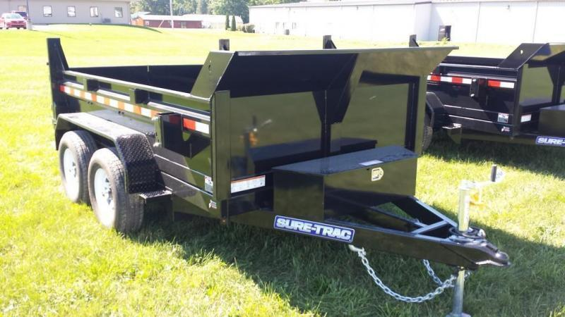 2018 Sure-Trac 6x10 10K Low Profile Dump Trailer