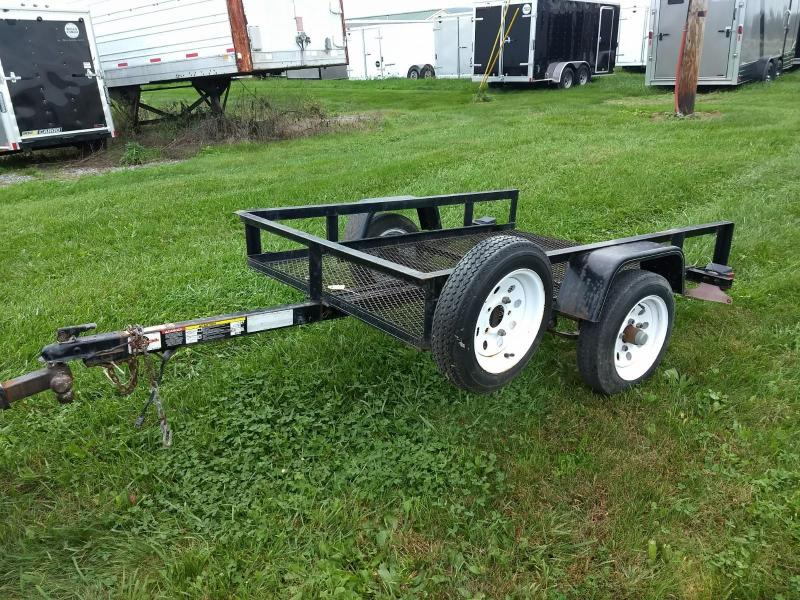 2005 Carry-On 4x6 Tilt Utility Trailer