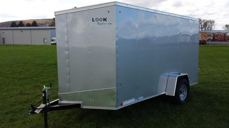 2017 Look Trailers 6x12 ST DLX Enclosed Cargo Trailer