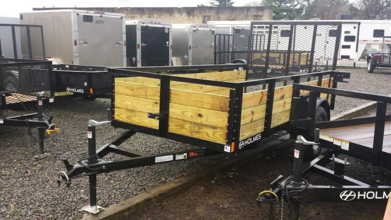 New trailers new and used trailers and vehicle rentals for 5x10 wood floor trailer