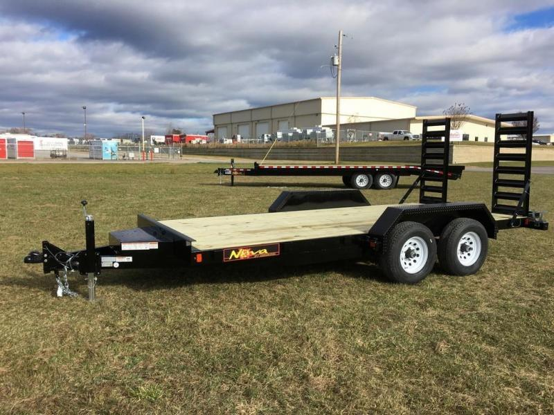 2019 Midsota 7x16 Nova 10K Equipment Trailer