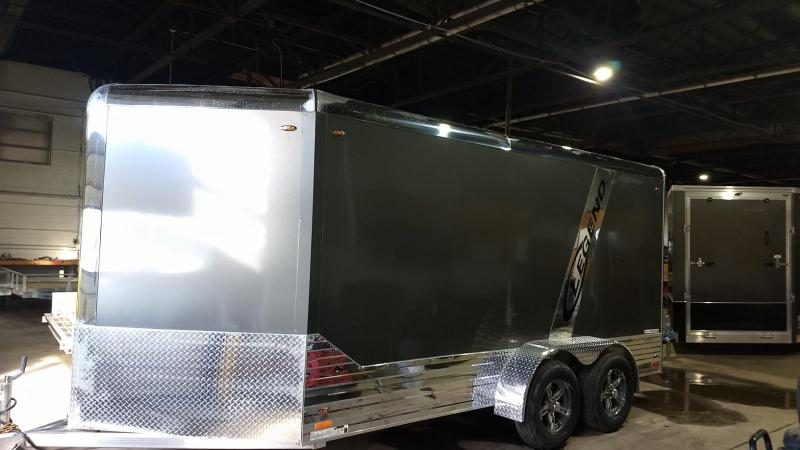 2019 Legend Manufacturing 7x17 all aluminum Enclosed Cargo Trailer