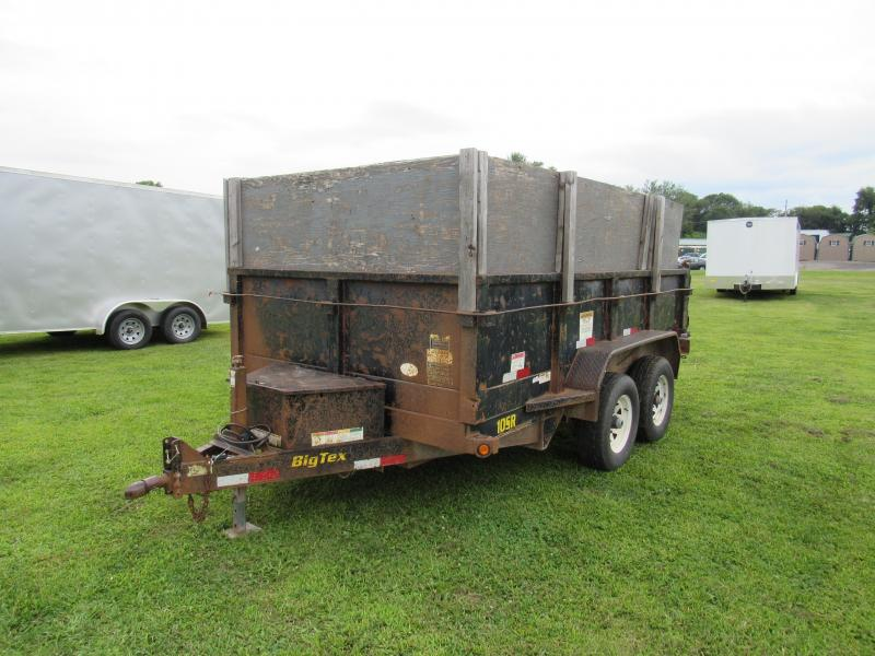 2008 Big Tex Trailers 6.5x12 10k Dump Trailer