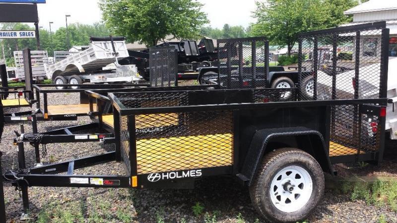 2015 Holmes commercial 5x8 utility trailer -LED -3.5k -mesh sides