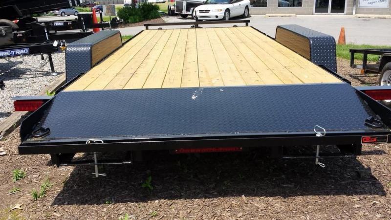2018 Holmes 6-10x20 Wood Deck Car / Racing Trailer