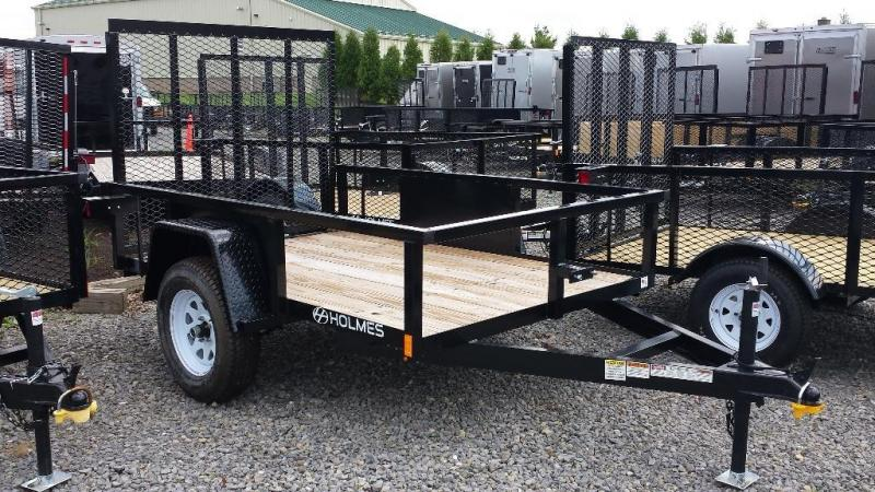 2016 Holmes 5x8 Commercial Open Side Utility Trailer
