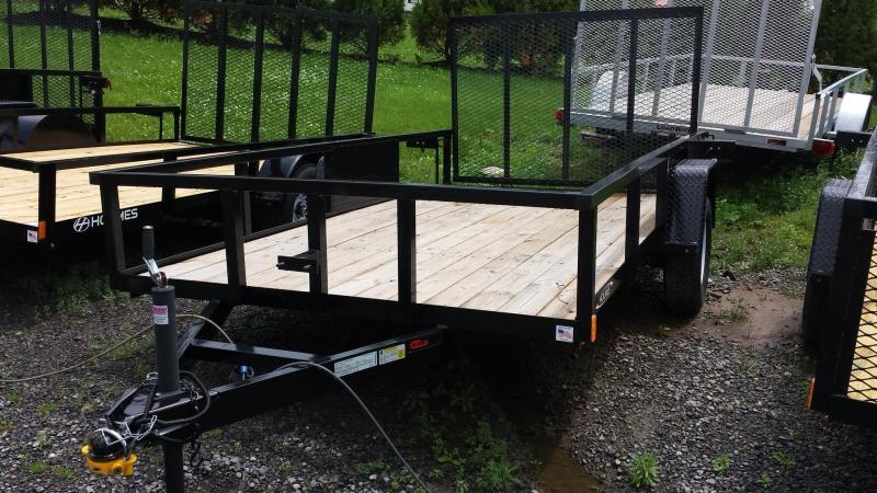 2014 Holmes commercial series 6-4x12 utility trailer -LED -open rail -3.5k