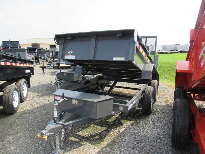 2019 Sure-Trac 5x10 Low Profile Landscape Dump Trailer