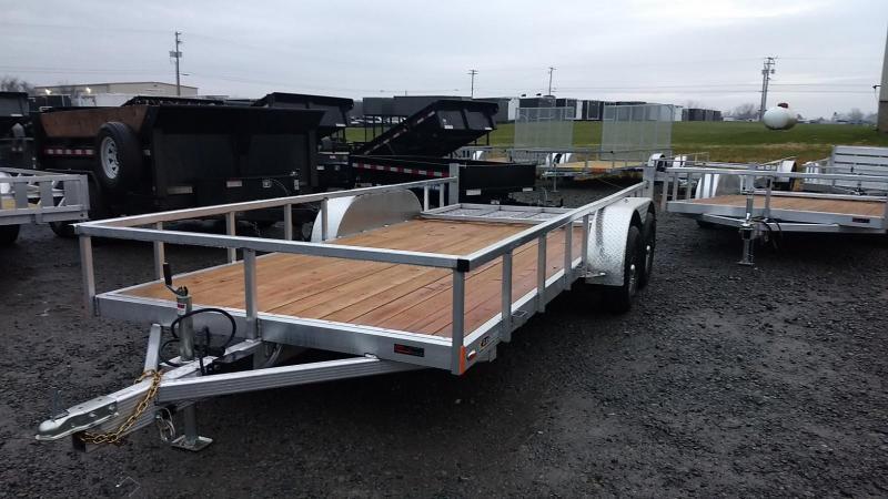 2019 Legend Manufacturing 7x16 Aluminum Utility Trailer