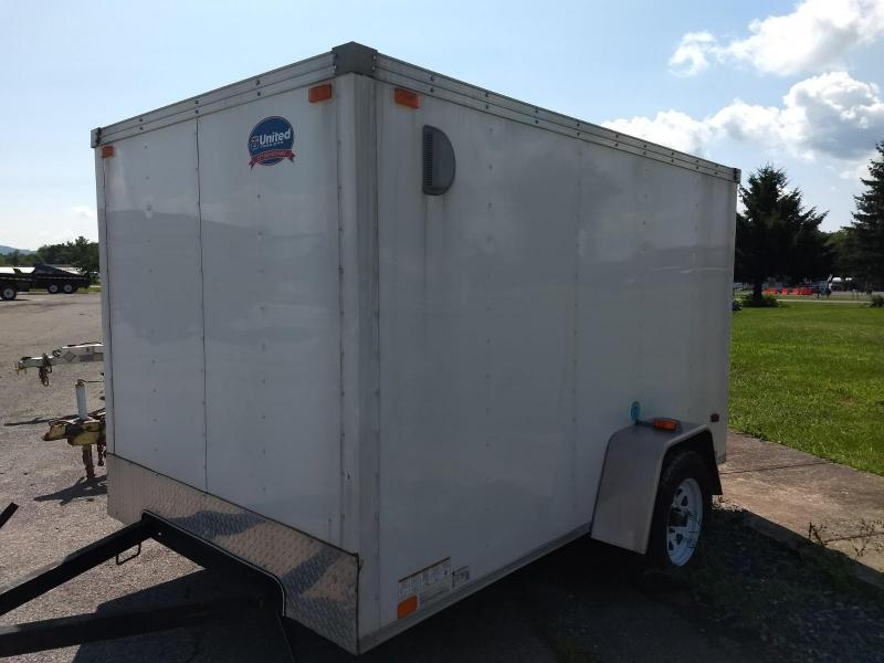 2014 United Trailers 6x10 Enclosed Cargo Trailer