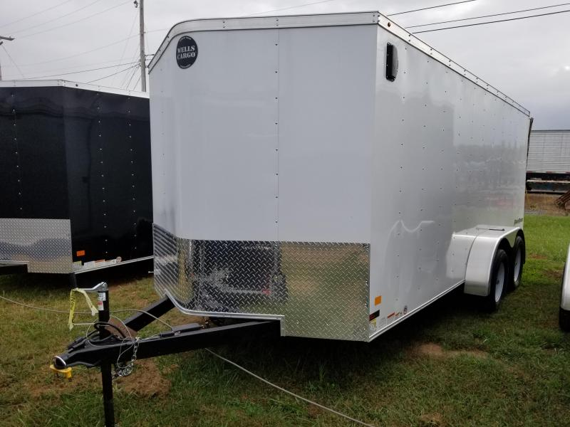 2017 Wells Cargo Fast Trac 7x16 Enclosed Cargo Trailer