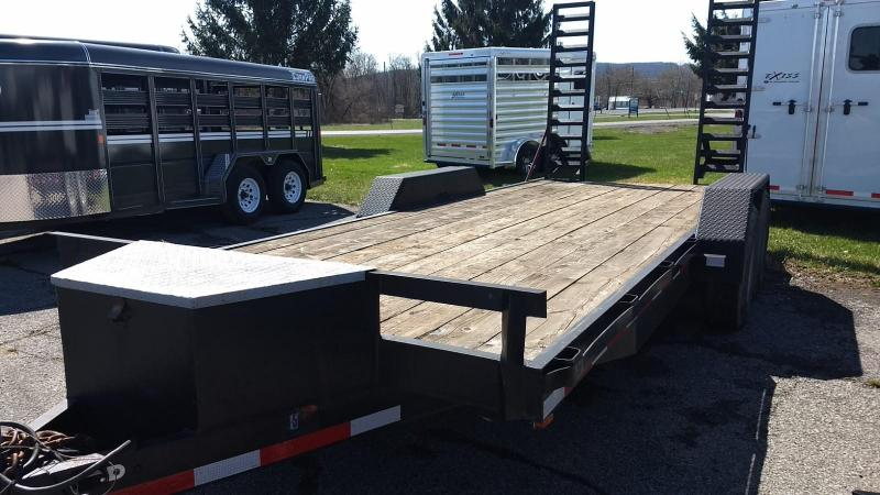 2003 Other 82x18 12K Equipment Trailer