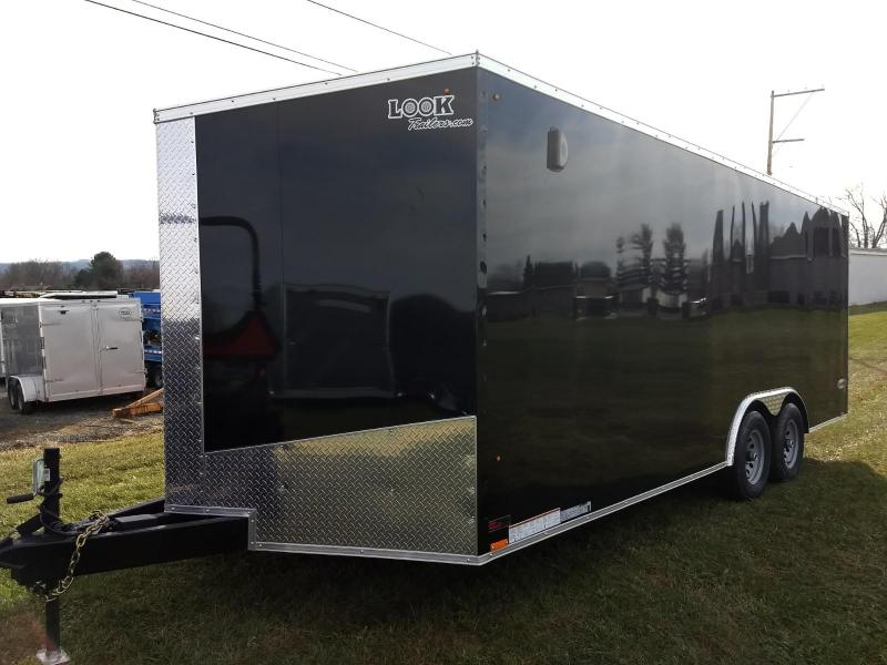 2019 Look Trailers 8.5x20 10K Car / Racing Trailer