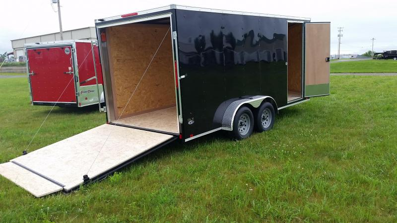 2018 Look Trailers 7x16 ST-DLX Enclosed Cargo Trailer