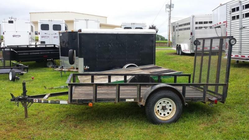 2003 Carry-On 5x10 wood floor Utility Trailer