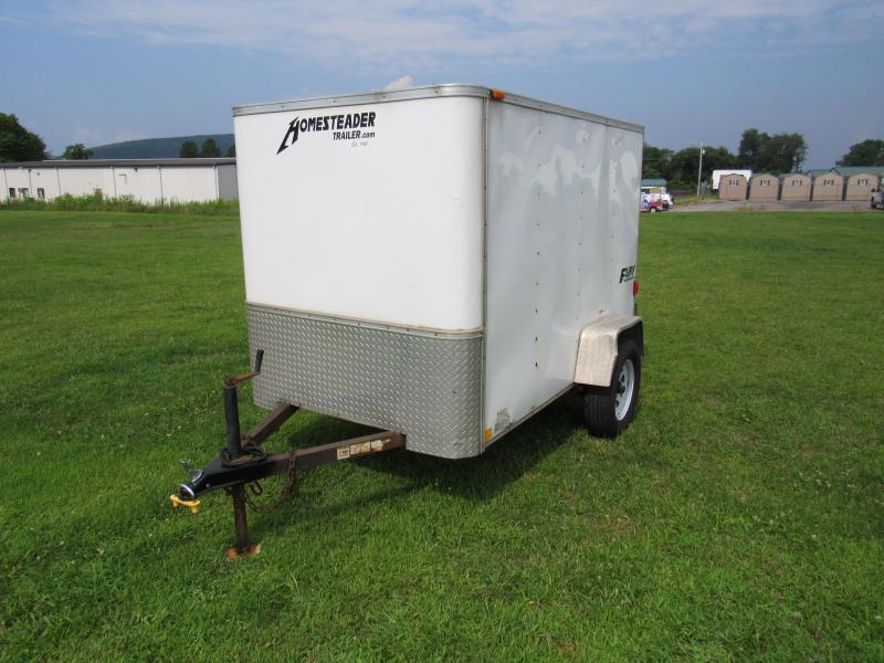 2011 Homesteader 5x8 Enclosed Cargo Trailer