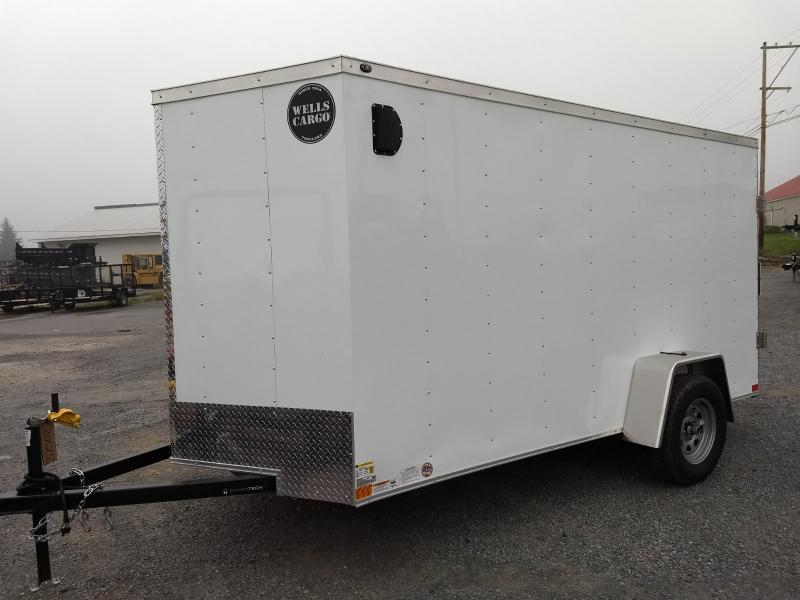 2019 Wells Cargo 300 Series 6x12 Enclosed Cargo Trailer