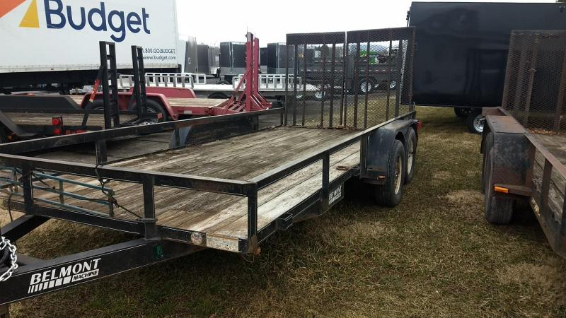2006 Belmont Machine 6-10x16 7K Utility Trailer