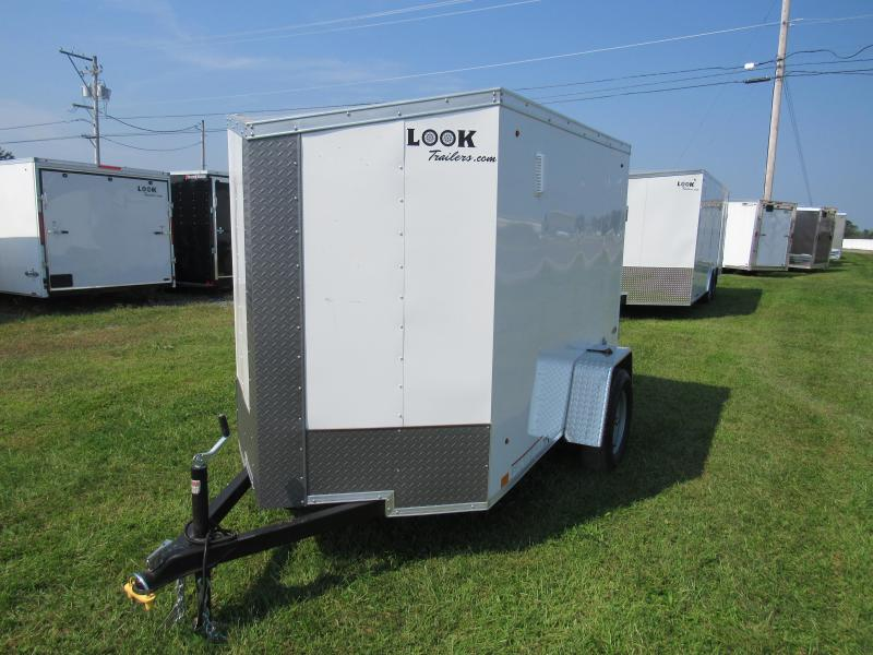 2020 Look Trailers 5x8 ST DLX Enclosed Cargo Trailer