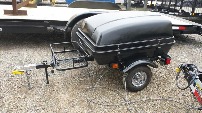2007 TCA Clamshell Motorcycle Trailer
