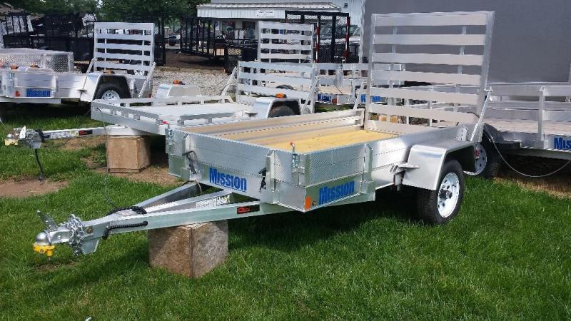 2015 Mission aluminum MU 4x8 DLW utility trailer -LED -2.2k
